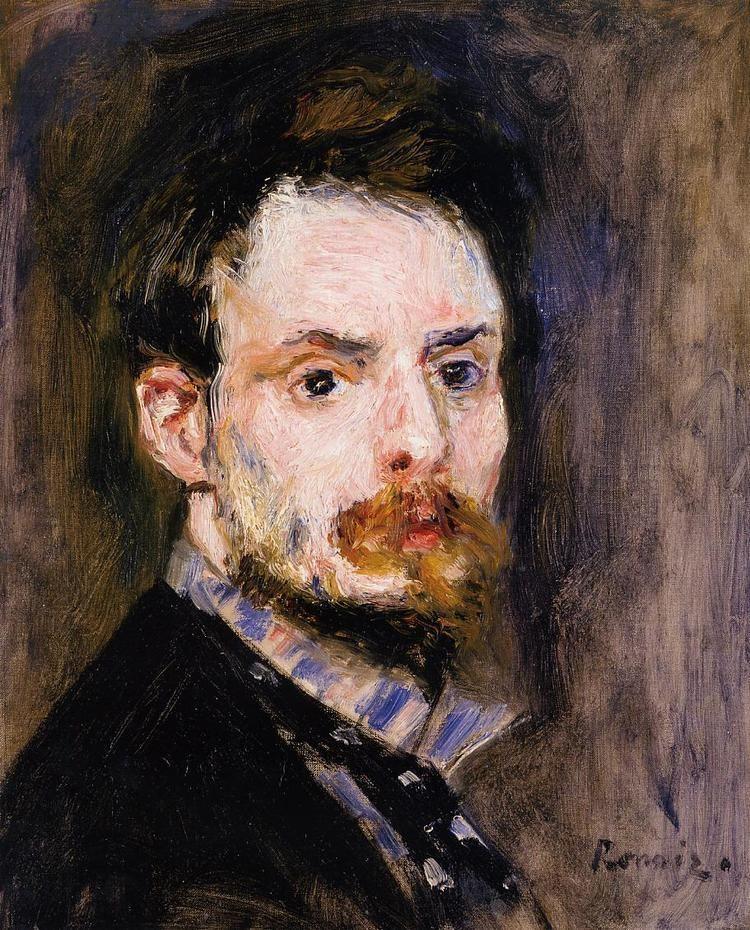 Pierre-Auguste Renoir SelfPortrait PierreAuguste Renoir WikiArtorg