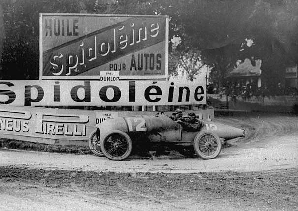 Pierre De Vizcaya 1922 gp de lacf strasbourg pierre de vizcaya bugatti 30 2nd 2