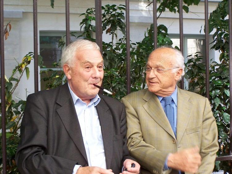 Pierre Nora FilePhilippe Sollers et Pierre NoraJPG Wikimedia Commons