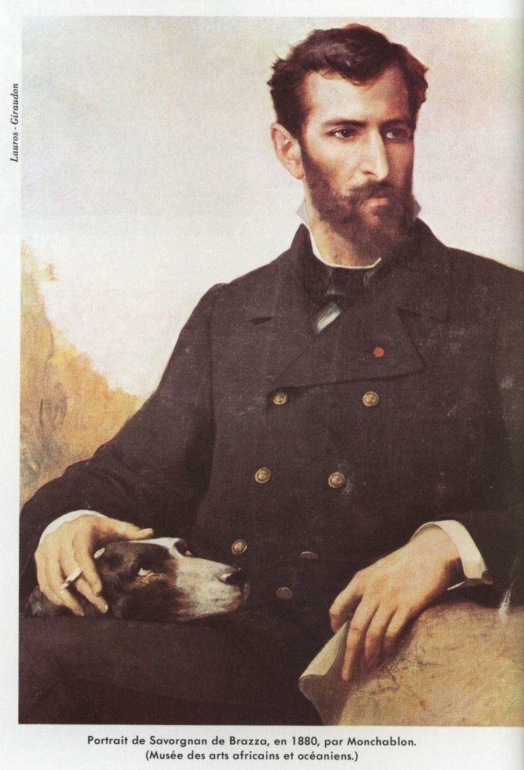 Pierre Savorgnan de Brazza Archive Larousse Grande Encyclopdie Larousse Brazza