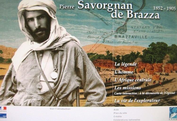 Pierre Savorgnan de Brazza Pierre Savorgnan de Brazza 18521905 expo CAOM