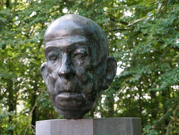 Piet Esser Portret van Adriaan Roland Holst