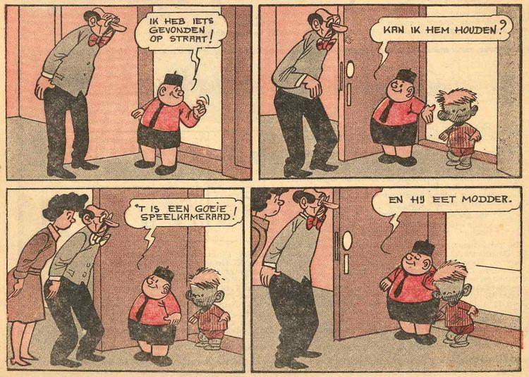 Piet Fluwijn en Bolleke Marc Sleen Lambiek Comiclopedia