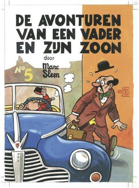 Piet Fluwijn en Bolleke Adhemar Piet Fluwijn en Bolleke De Avonturen Van Een Vader En