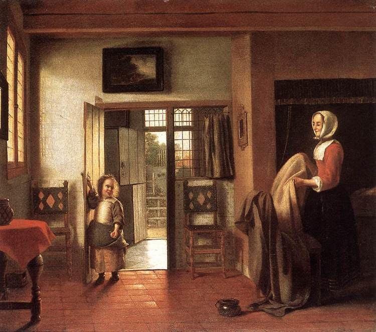 Pieter de Hooch The Bedroom Pieter de Hooch WikiArtorg