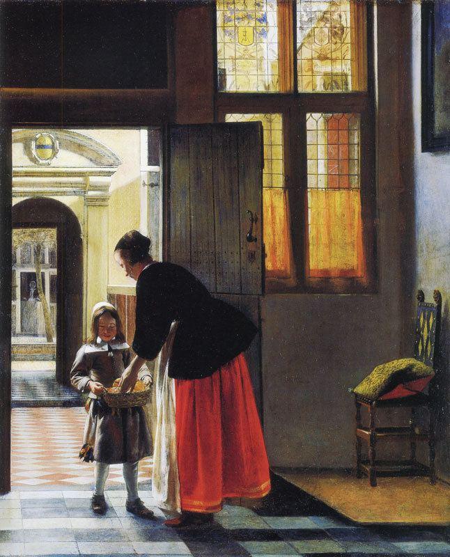 Pieter de Hooch pieterhoochboybreadjpg