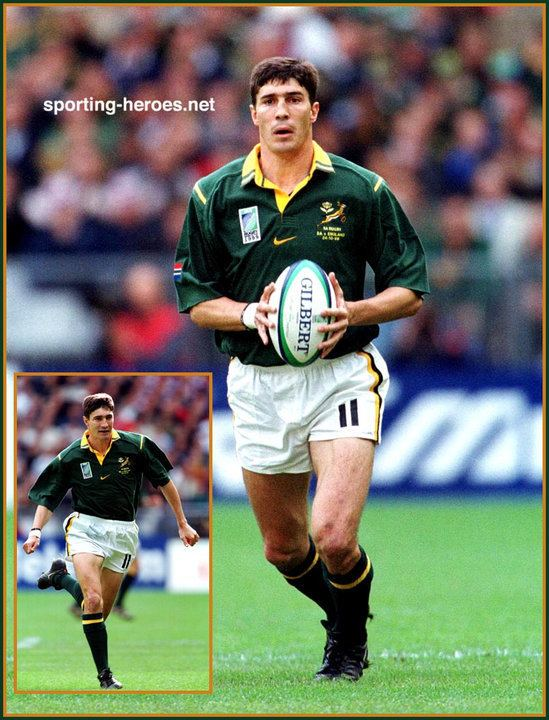Pieter Rossouw (rugby player) Pieter ROSSOUW International Rugby Matches for South
