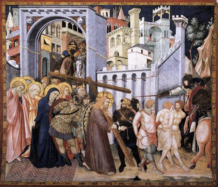 Pietro Lorenzetti The Road to Calvary Lorenzetti Pietro Gallery Web