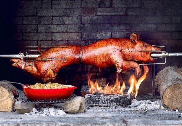 Pig roast Slow Meat Pig Roast with Urban Digs Farm Italian Cultural Centre