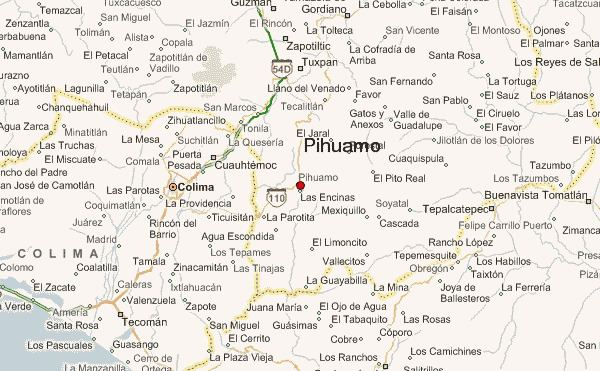 Pihuamo Pihuamo Location Guide