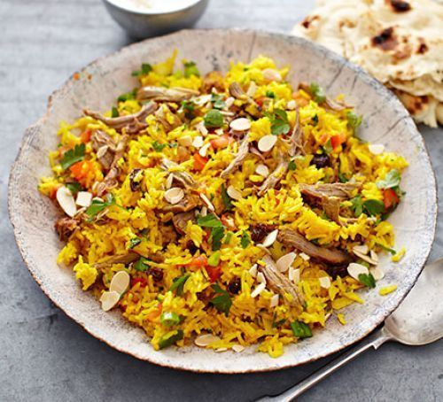 Pilaf Spiced lamb pilaf BBC Good Food