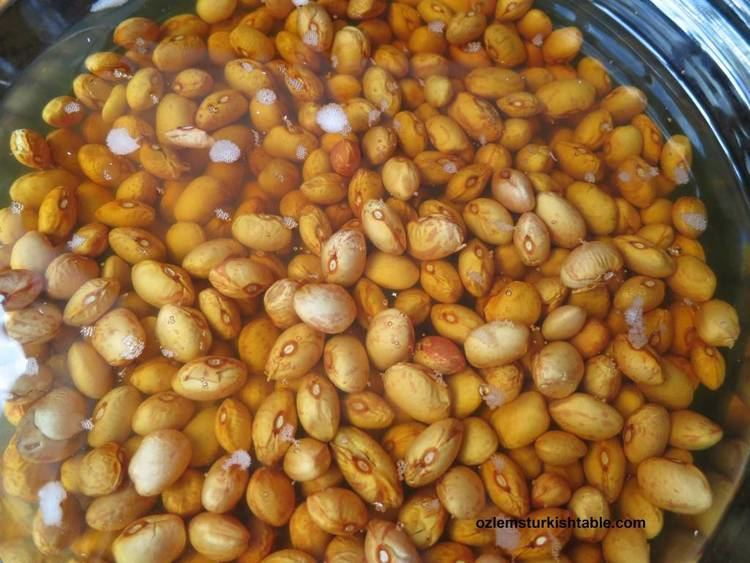 Pilaki Barbunya Pilaki Borlotti Cranberry Beans Cooked with Vegetables