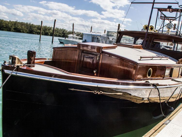 Pilar (boat) Hemingways Pilar Visits the Miami Boat Show Marlin Magazine