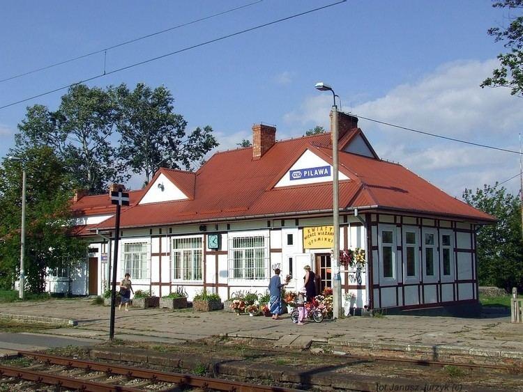 Pilawa railway station