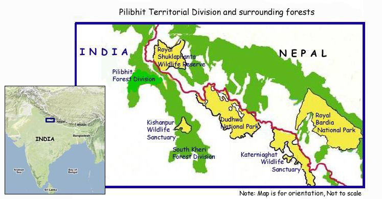 Pilibhit Beautiful Landscapes of Pilibhit