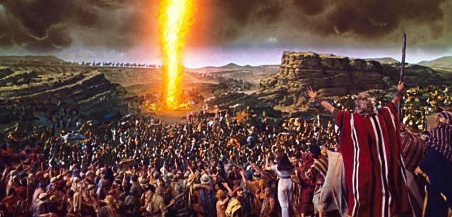 Pillar of Fire (theophany) The Pillar of fire bars the way between the children of Israel and