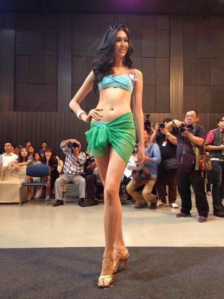 Pimbongkod Chankaew O Universo dos concursos Miss Thailand Universe 2014