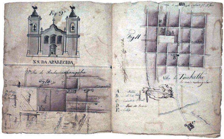 Pindamonhangaba in the past, History of Pindamonhangaba