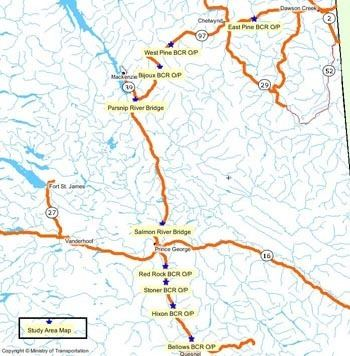 Pine Pass Northern BC Companies to Benefit from Proposed Pine Pass