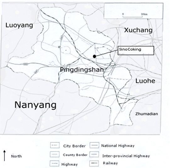 Pingdingshan in the past, History of Pingdingshan