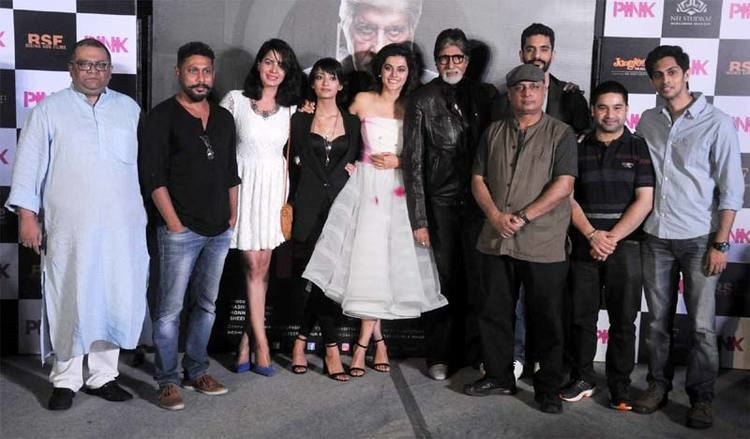 Pink (2016 film) Photo Gallery Trailer launch of the upcoming film Pink Webdunia