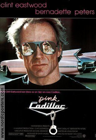 Pink Cadillac (film) Pink Cadillac poster 1989 Clint Eastwood original