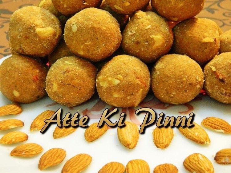 Pinni Recipe of Atte Ki Pinni or Atte Ke Laddo or Punjabi Pinni