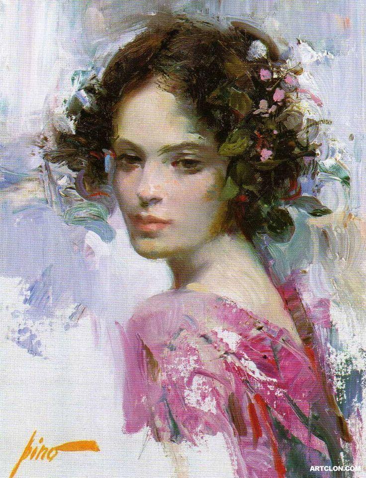 Pino Daeni Pino Daeni on Pinterest Impressionism Amazing Paintings
