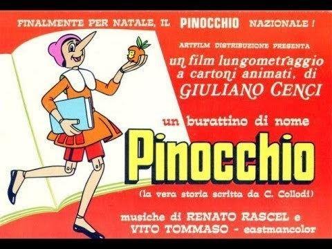 Pinocchio (1972 film) Cartoni Animati Completi Un burattino di nome Pinocchio YouTube