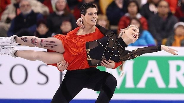 Piper Gilles Ice dancers Piper Gilles Paul Poirier quietly rise in rankings
