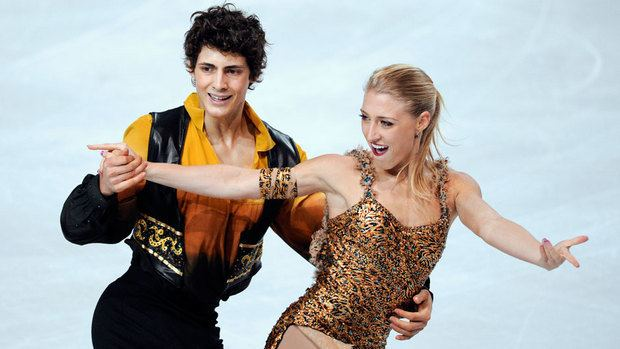Piper Gilles ICSO Sochi 2014 Ice dancer Piper Gilles pushing for