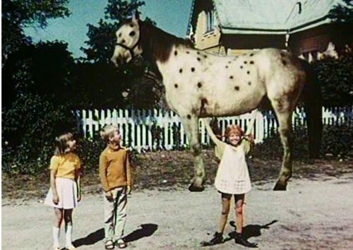 Pippi Longstocking (1949 film) 108 best Pipi long stocking images on Pinterest Pippi longstocking