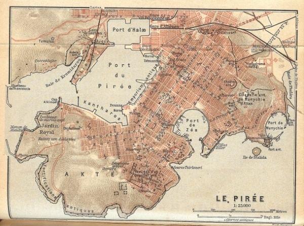 Piraeus in the past, History of Piraeus