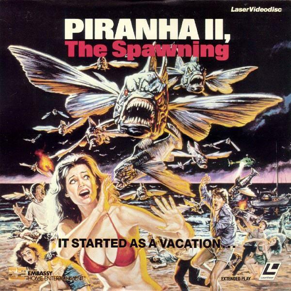 Piranha II: The Spawning PIRANHA 2the spawning HELLFORD667 Movie Reviews