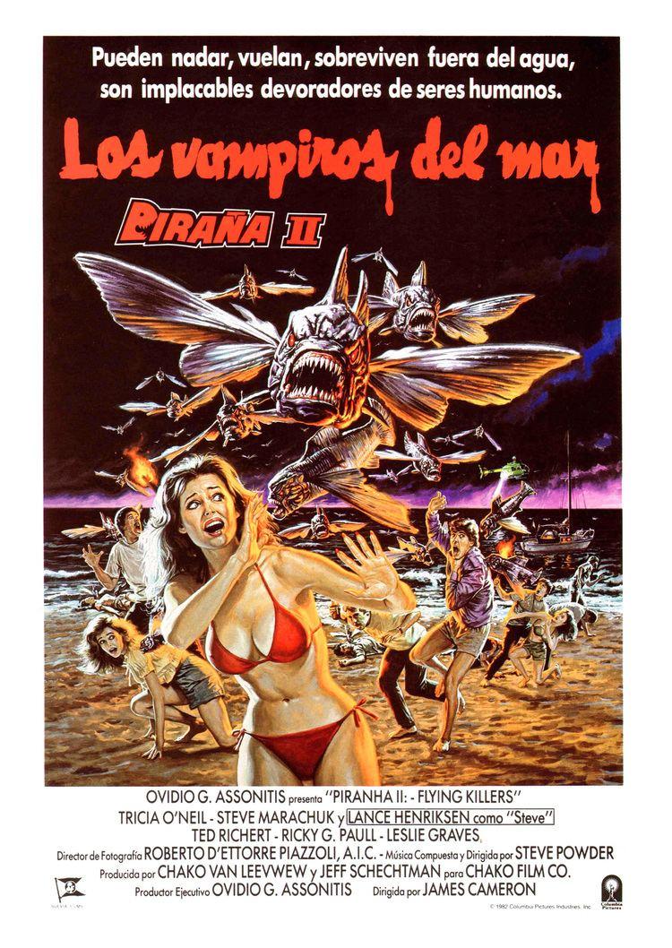 Piranha II: The Spawning Piranha II The Spawning 1981 Amazing Movie Posters