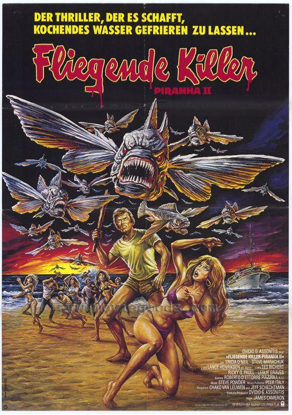 Piranha II: The Spawning Piranha II The Spawning aka Piranha II Flying Killers 1981