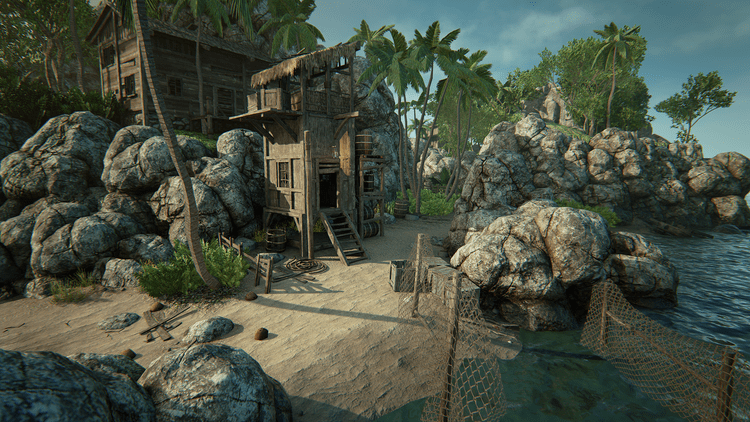 Pirates Island Pirates Island by Manufactura K4 in Environments UE4 Marketplace