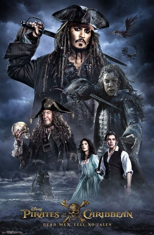 Pirates of the Caribbean: Dead Men Tell No Tales Pirates of the Caribbean Dead Men Tell No Tales gets three new posters