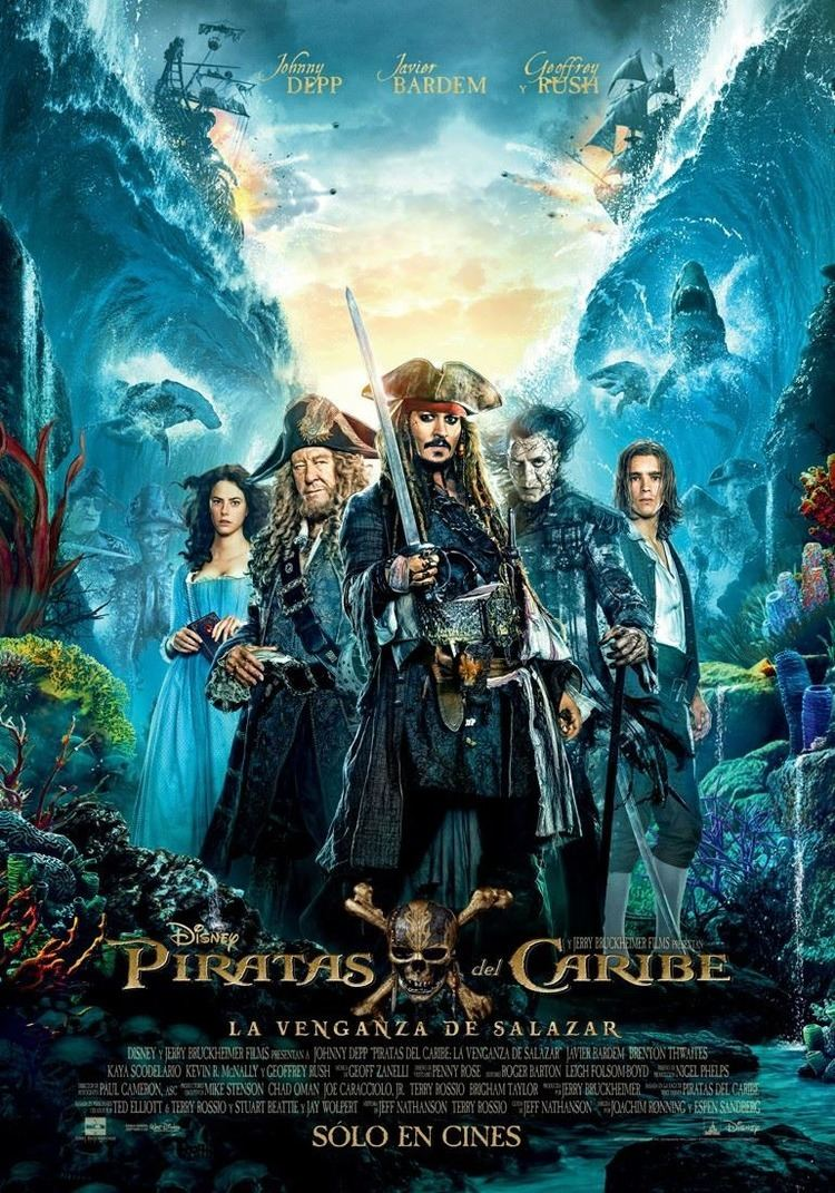 Pirates of the Caribbean: Dead Men Tell No Tales Pirates of the Caribbean Dead Men Tell No Tales Movie Poster 4 of