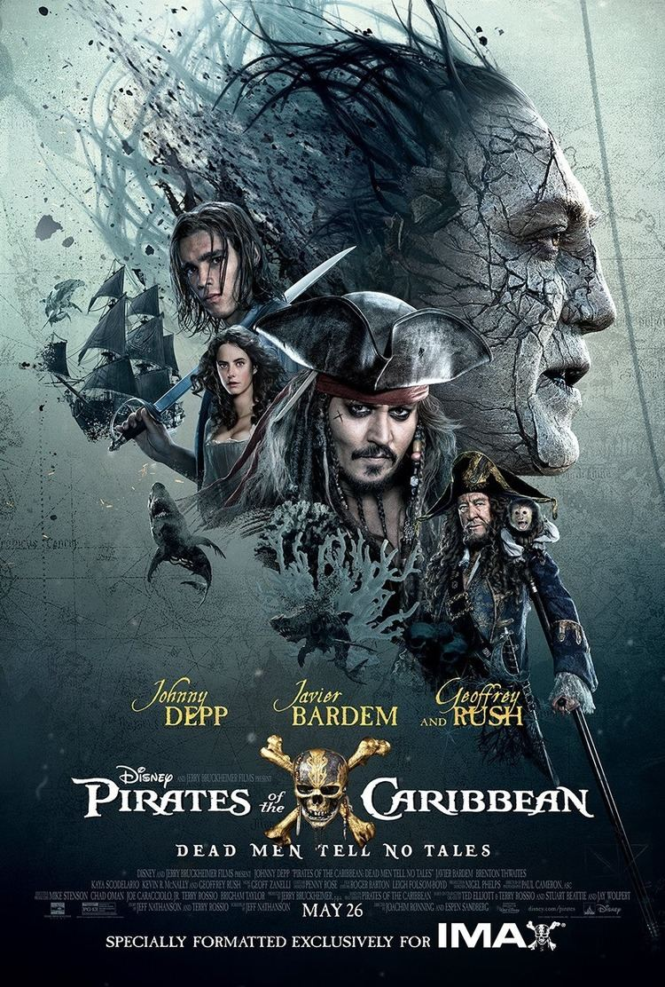Pirates of the Caribbean: Dead Men Tell No Tales Pirates of the Caribbean Dead Men Tell No Tales Movie Poster 21
