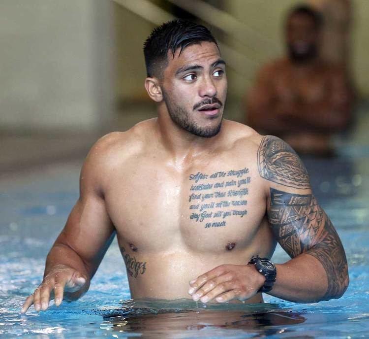 Pita Ahki New Zealand39s Pita Ahki recovers from a training session