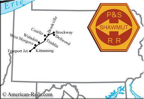 Pittsburg and Shawmut Railroad wwwamericanrailscomimagespittsburgandshawmu