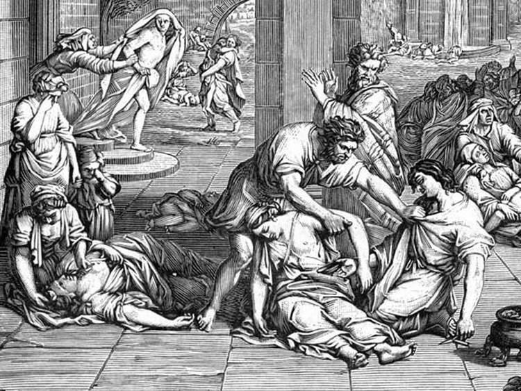 Plague of Justinian Plague of Justinian Attacking the Eastern Roman Byzantine Empire