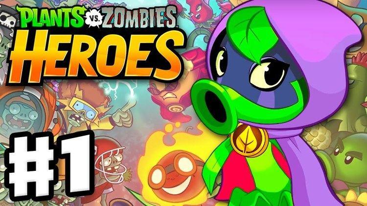 Plants vs. Zombies Heroes Plants vs Zombies Heroes Gameplay Walkthrough Part 1 Green