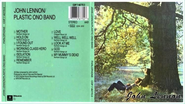 Plastic Ono Band John Lennon 1970 Plastic Ono Band album YouTube