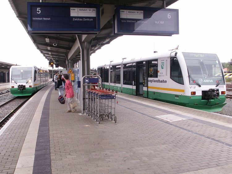 Plauen (Vogtland) Oberer Bahnhof