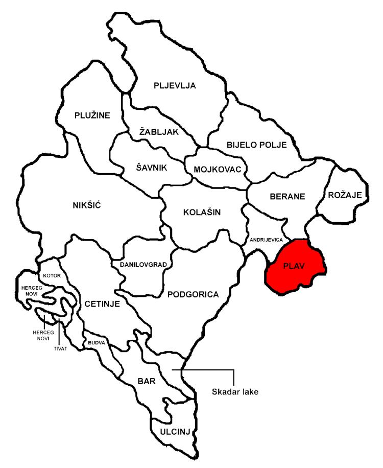 Plav, Montenegro in the past, History of Plav, Montenegro