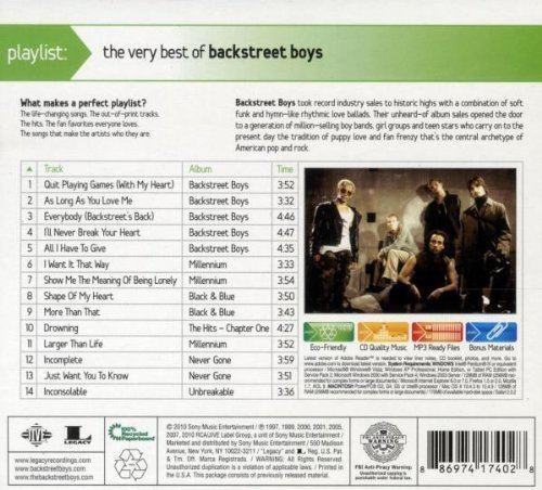 Playlist: The Very Best of Backstreet Boys httpsimagesnasslimagesamazoncomimagesI5