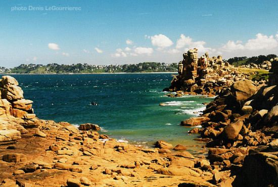 Ploumanac'h photos from Brittany the pink granit coast