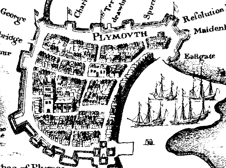 Plymouth in the past, History of Plymouth